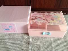 キキララ未使用アクセサリーケースゆめいろおもちゃ箱シリーズ