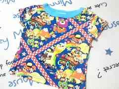 JAM派手カワイイ総柄半袖Tシャツサイズ80�p