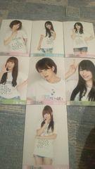 激レア!☆AKB48全国コンサートツアー会場限定盤!限定☆生写真7枚セット!