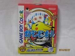 新品 レアゲームボーイソフト ポケモンピンボール
