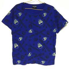 総柄  スカル  Tシャツ