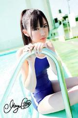 【送料無料】AKB48渡辺麻友 写真5枚セット<サイン入> 33