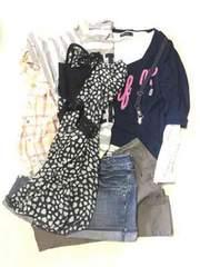 女の子服160cmサイズ9点まとめ売り/bebeブランド含