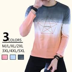 秋トップス Tシャツ カジュアル長袖Tシャツ 大きいサイズ 18xa84