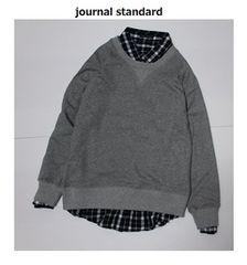 ジャーナルスタンダード*journal standard★スウェットプルオーバー/新品