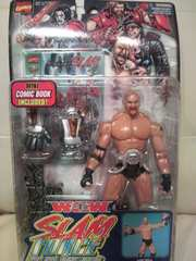 未開封 WWE WCW Wー1 ビル・ゴールドバーグ(アメコミ風)フィギュア