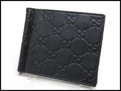 GUCCI グッチ グッチシマ クリップ 札バサミ 財布 170580