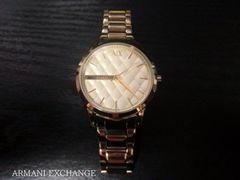 ☆ARMANI EXCHANGE/アルマーニエクスチェンジ 腕時計☆ゴールド