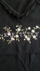 中古ケティ半袖TシャツMブラック