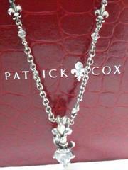 パトリックコックス【PATRICK COX】925SV ストーン<ダガー/ユリの紋章>ネックレス