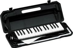 鍵盤ハーモニカ ブラック 32鍵