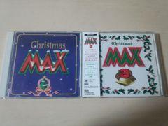 CD「クリスマスMAX CHRISTMAS MAX 1,3」 2枚セット★