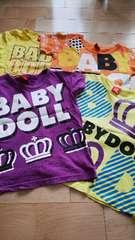 ベビードール BABYDOLL 半袖Tシャツセット 120 �J