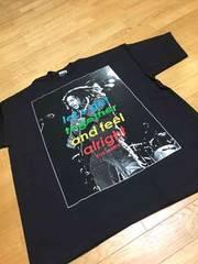 LA直輸入 レゲエボブマリーサイズ2XL黒ブラックZ�A�ATシャツ