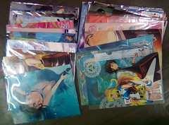 アニメイラスト系クリアファイル60枚詰め合わせ福袋