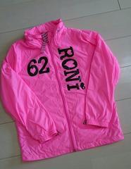 ロニィ*ML(140�p)ウインドブレイカー*ピンク