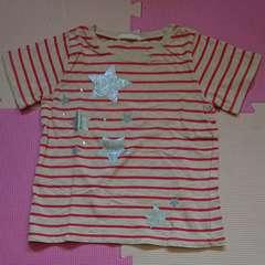 GU☆ボーダーTシャツ☆size110