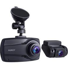 AUKEY ドライブレコーダー 前後カメラ 2.7インチ 1080PフルHD