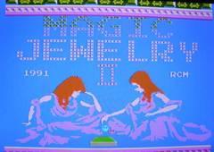 MAGIC JEWELRY�U (コラムス風パズル)  カセットのみ