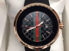新品 GUCCI グッチ シェリーライン腕時計ラバー バンド ウォッチ