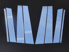 クロームメッキ超鏡面ピラーモール アウトバック BR系