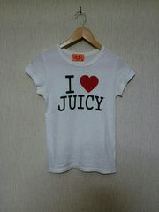 JUICY COUTURE■英字ロゴ付きTシャツ