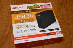 新品 BUFFALO HD-LC3.0U3-BKC 外付HDD USB3.0対応 3.0TB
