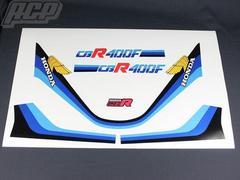 CBR400F 1型 純正タイプ ラインステッカー(白ベース用) 新品