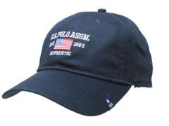アメリカン カジュアル キャップ cap 帽子 Navy blue N004