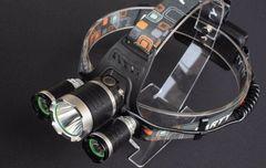 CREEXM-LT6×3ヘッド充電式超高輝度5000ルーメンLEDヘッドランプ