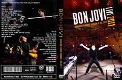 BON JOVI Madison Square Garden N.Y 2.25.2011 ボンジョヴィ