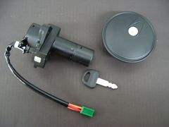 (19)GSX400Fメインキータンクキャップセット