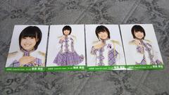 HKT48AKB48朝長美桜☆公式生写真〜2014August4枚セット!