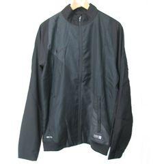 新品M★ナイキ黒サッカーウインドジャケット定価7560円