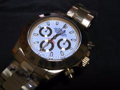 新品 116508  ロレックス デイトナゴールド・ホワイト