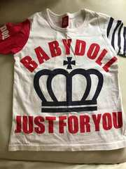 ベビードールTシャツ 130
