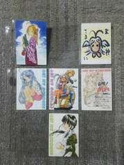 トレカ ああっ女神さまっ SPカード トリビュート 6枚 #82 #84〜#87 #89
