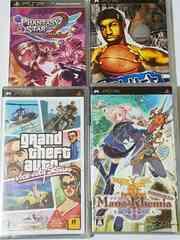 【PSP】ソフト4本セット ジャンク品