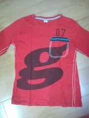 KUCHI-KOO クチクー        キッズ長袖Tシャツ150(赤色)