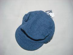 mn34 男 RIP CURL リップカール ニット野球帽 ブルー