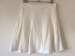 新品セシルマクビーCECILプリーツヒラミニスカート白ホワイトワンピースボトムス