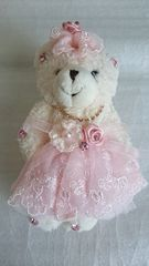 くま 縫いぐるみ ピンク