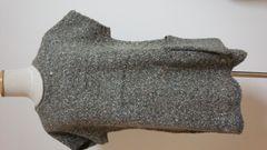 サンバレー サマンサモスモス系 ざっくりニット ナチュラル リンネル タグ付き未使用品