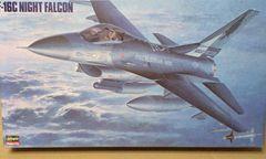1/48 ハセガワ アメリカ空軍 F-16C ナイトファルコン