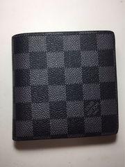 LouisVuittonグラフィット二つ折り短財布(マルコ)