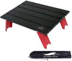 アルミ ロールテーブル ミニテーブル アウトドア用 折りたたみ式