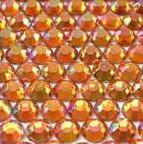 ● 4mm ● デコ用ストーン  2000粒 オレンジ
