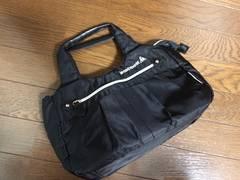 美品ルコックスポルティフ黒色ブラックショルダーバッグ