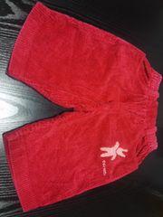 中古 女の子用赤ズボン(110�p)