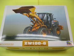 ハセガワ 1/35 WM04 日立建機 ホイールローダ ZW100-6 新品